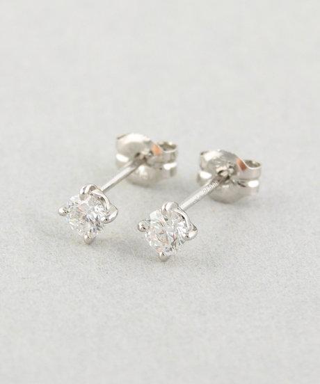 PT900 ダイヤモンド 0.2ct ピアス「ブライト」の写真
