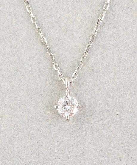 PT900 ダイヤモンド ネックレス「ブライト」の写真